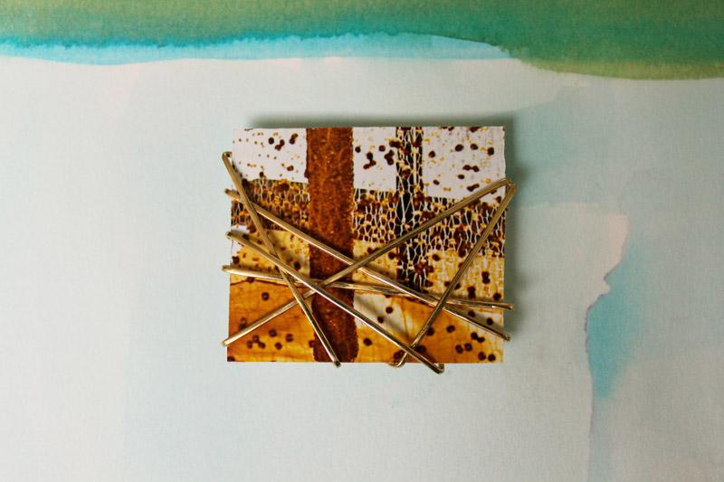 materiaal: 14 krt geelgoud  foto: ebe reitsma